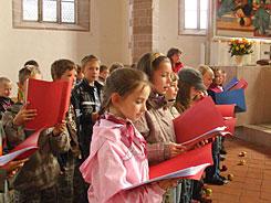 Spatzenchor Evangelische Grundschule Schneeberg
